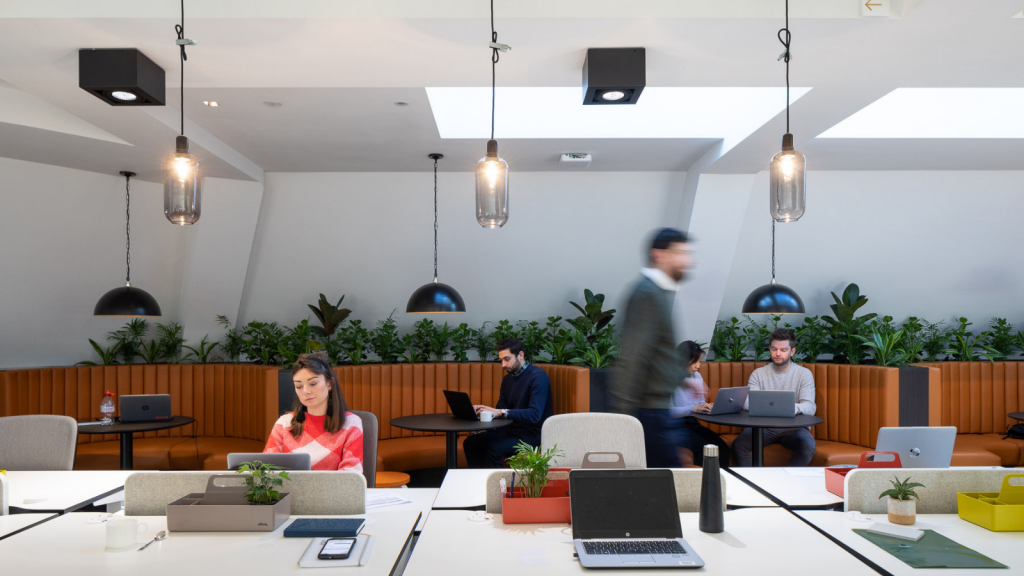 One Heddon Street Co-Working space